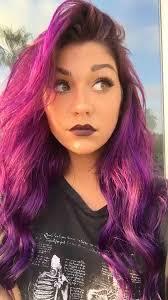 purple hair don t care