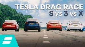 Drag Race: Tesla Model 3 vs Model S vs ...