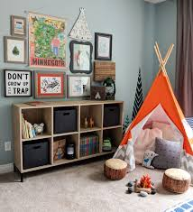 Sparkling Other Under Deck Patio Ideas Transitional Kids Beige Carpet Orange Tipi Kids Toy Storage Painted Wall Decal Gallery