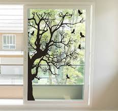Branches With Birds Window Sticker Tenstickers