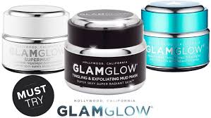 review glam glow mud mask