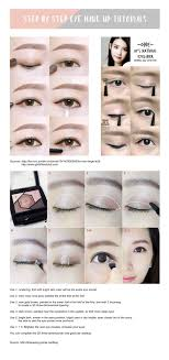 korean makeup step by picture