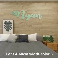 8 24 Custom Name Sign Wood Name Sign Nursery Signs Nursery Letters Script Font Children S Room Wall Decoration Decorative Letters Numbers Aliexpress