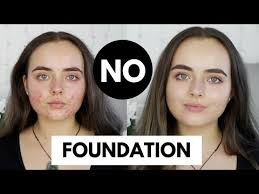 how to cover acne with no foundation
