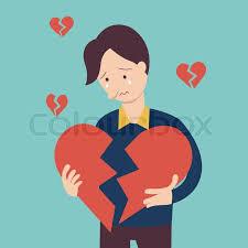 Image result for broken hearted man