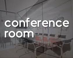 Conference Room Decal Office Sign Vinyl Sticker Company Meeting Business Door Wall Window Store Decals