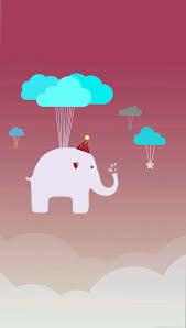 cute elephant wallpaper phone as