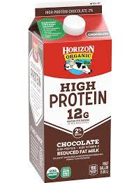 horizon organic high protein chocolate milk