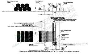 4m Chain Link Fence Machine Anber Wire Mesh Machine