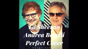 Ed Sheeran - Perfect Symphony (with Andrea Bocelli) (Cover) - YouTube