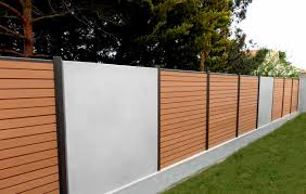 Garden Fence Boreale Ocewood With Bars Wpc