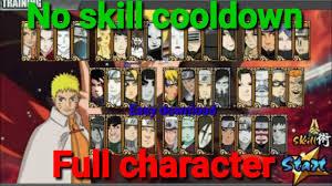 なると Naruto senki mod Full character & No skill Cooldown or No ...