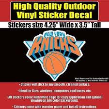 Wall New York Knicks Nba Logo Basketball Vinyl Sticker Decal Car Phone Ect