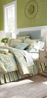 toile bedding set lutece cypress
