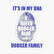 Los Angeles Dodgers Stickers Redbubble