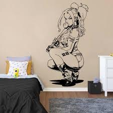 Harley Quinn Wall Decal Kuarki Lifestyle Solutions