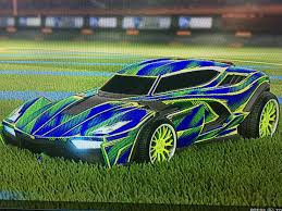 Painted Forest Green Breakout Type S Funny Book Decal Had No Idea They Could Be Painted Xd Rocketleague