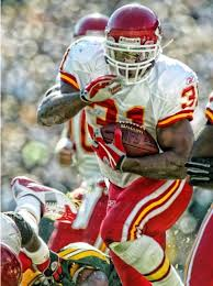 Priest Holmes | Kansas city chiefs football, Chiefs football, Priest holmes