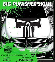 Punisher Vehicle Decals Vinyl Stickers Graphics