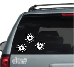 Bullet Hole Car Decals Stickers Decal Junky