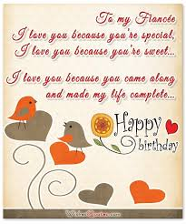 birthday wishes for fiancee by wishesquotes