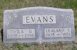 Twila Golda Bray Evans (1905-1996) - Find A Grave Memorial