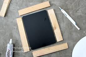 diy chalkboard frame crafting with