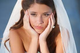 brides worry about on their wedding day