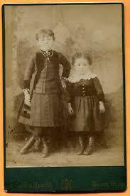Salem, OH, Portrait of 2 Siblings, by Hewitt & Hewitt, circa 1880s | eBay