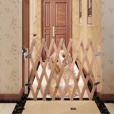 Pet Supplies Doors Gates Ramps Gates Soundwinds Dog Safety Gate Indoor Wooden Retractable Dog Fence Pet Gate Guard Portable Folding Dog Sliding Door For Doorway Stairs Kitchen Kubicolab It