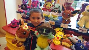 Making A FUN SQUIRTLE & EEVEE at Build A Bear! ETHANS FAVORITE ...