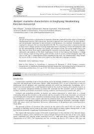 pdf rampes counselor characteristics in sanghyang siksakandang