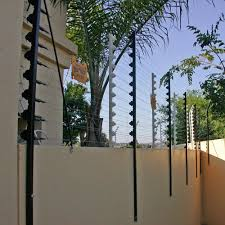 Perimeter Security Electric Fence For Home Garden Solar Panel Charge Option Alarm System Buy Electric Fence Electric Fence Energizer Electric Fence Charger Product On Alibaba Com