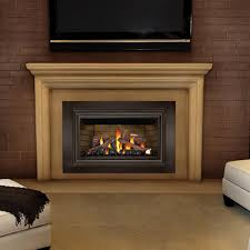 gas and wood burning fireplaces