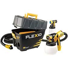 Wagner 0529021 Flexio 890 Stationary Hvlp Paint Sprayer Sprays Unthinned Latex Includes Two Nozzles Ispray Nozzle And Detail Finish Nozzle Complete Adjustability For All Needs Amazon Com