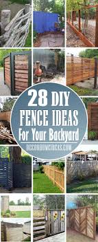 28 Best Diy Backyard Fence Ideas To Create The Perfect Retreat Decor Home Ideas