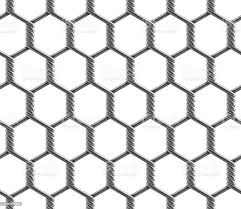 Vector Seamless Pattern Of Hexagonal Reinforced Large Cell Chain Link Fence Stock Illustration Download Image Now Istock