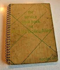 The Service Cookbook by Mrs. Ida Bailey Allen 1933 Number One | eBay