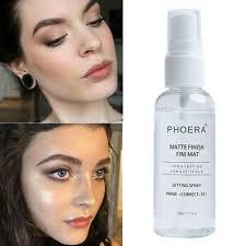pa makeup spray matte dewy finish