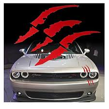 Red Vinyl Car Decal Challenger 1 10 By 10 Inches Itrainkids Com