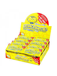 lemonheads candy 24 x 22g