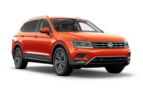 2019 volkswagen tiguan lease new car