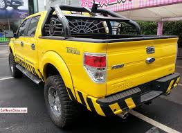 Spotted In China Ford F 150 Tonka Edition Carnewschina Com