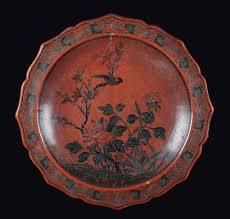 A large carved red lacquer plate, China, Ming Dynasty, Jiajing Period  (1522-1566) Provenance Galleria Pesaro. Myrna Meyer - Fine Chinese Works of  Art - Cambi Casa d'Aste