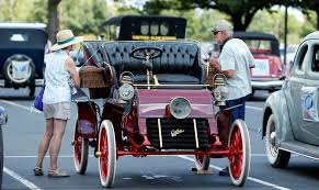 antique cars roll into norman