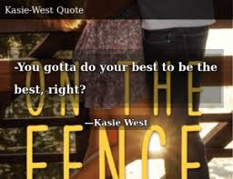 Kasie West On The Fence