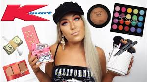 kmart makeup haul you