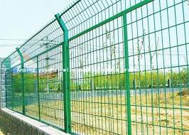 Easy Assembly Green Wire Mesh Fencing High Security Wire Mesh Security Fencing