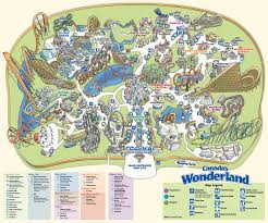 canada s wonderland historical maps