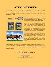 Want To Buy The Best Horse Fencing